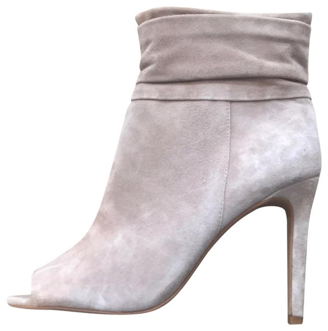 Nude Open-toed Boots/Booties Size US 9.5 Regular (M, B) Nude Open-toed Boots/Booties Size US 9.5 Regular (M, B) Image 1
