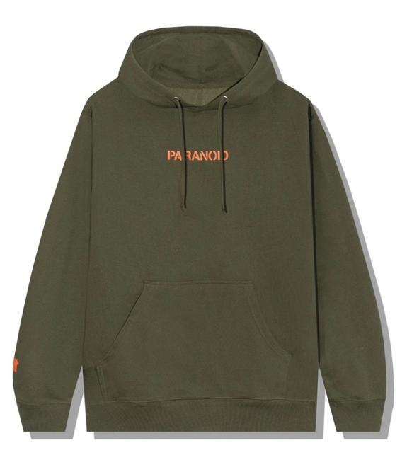 Item - Green X Undefeated Paranoid Sweatshirt/Hoodie Size 12 (L)