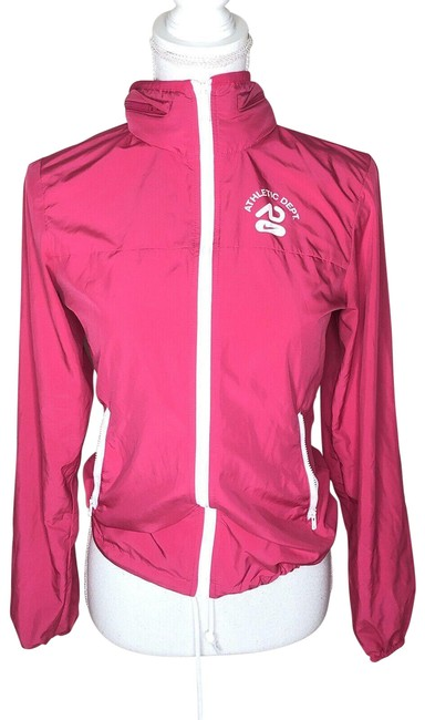 Item - Pink Womens Full Zip Up The Athletic Dept Hoodie Jacket Size 4 (S)
