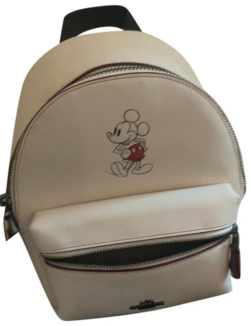Item - Disney X Limited Edition White Leather Backpack