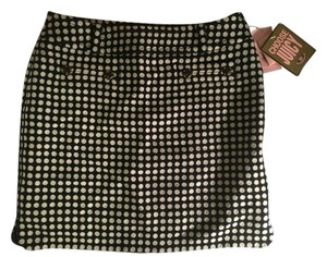 Juicy Couture Wool Skirt Black & White