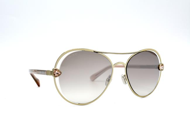 Item - Gold Pink New Sarah/S Eyr Brown 56-17 Sunglasses