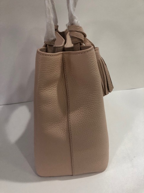 Tory Burch Bag Thea Center Zip Sweet Melon Leather Tote Tory Burch Bag Thea Center Zip Sweet Melon Leather Tote Image 3