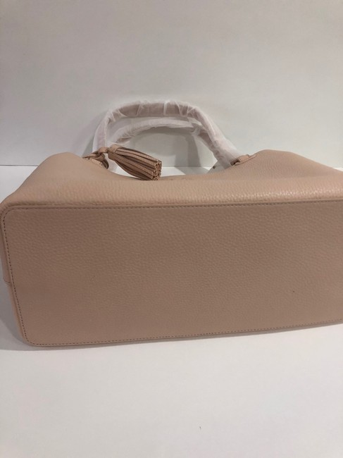 Tory Burch Bag Thea Center Zip Sweet Melon Leather Tote Tory Burch Bag Thea Center Zip Sweet Melon Leather Tote Image 5