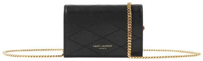 Item - Paris-baby Black Quilted Leather Shoulder Bag