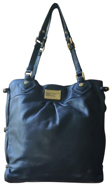 Marc by Marc Jacobs Large Tote/Hobo Black Cowhide Leather Hobo Bag Marc by Marc Jacobs Large Tote/Hobo Black Cowhide Leather Hobo Bag Image 1