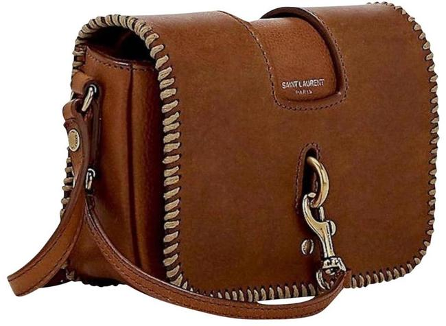 Item - Lou Charlotte New Toy Brown Leather Cross Body Bag
