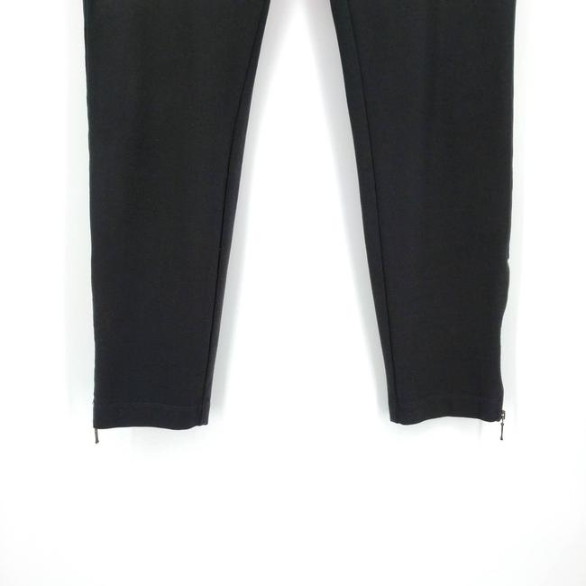 Eileen Fisher Black Zip Ankle Ponte Pull On Stretch Pants Size 4 (S, 27) Eileen Fisher Black Zip Ankle Ponte Pull On Stretch Pants Size 4 (S, 27) Image 4