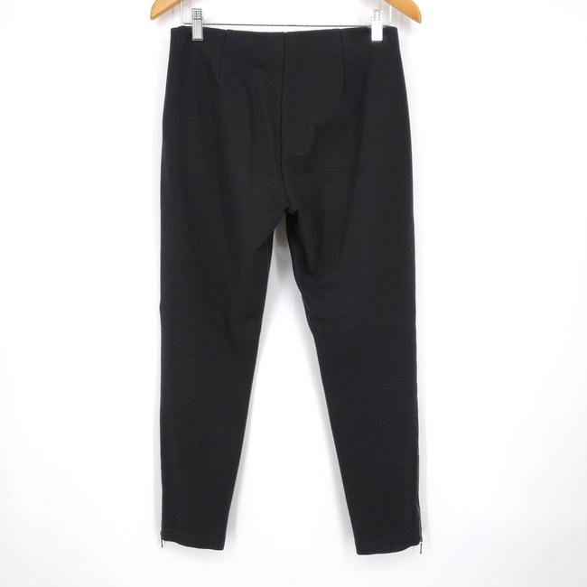 Eileen Fisher Black Zip Ankle Ponte Pull On Stretch Pants Size 4 (S, 27) Eileen Fisher Black Zip Ankle Ponte Pull On Stretch Pants Size 4 (S, 27) Image 6