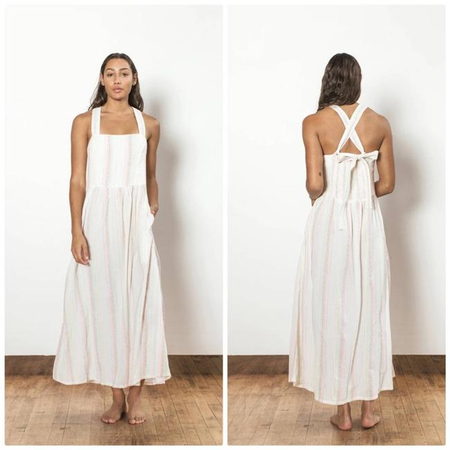 Item - White Willa Melody Large Casual Maxi Dress Size 12 (L)