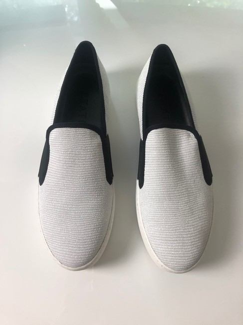 1.STATE White New and Black Slip On Leather Sneakers Size EU 37 (Approx. US 7) Regular (M, B) 1.STATE White New and Black Slip On Leather Sneakers Size EU 37 (Approx. US 7) Regular (M, B) Image 2