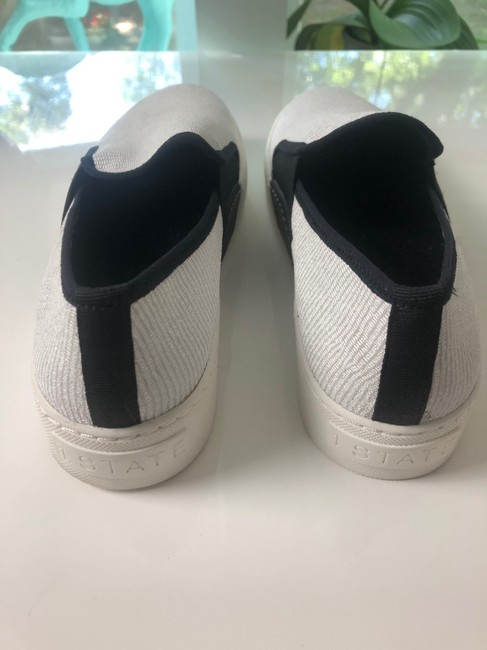 1.STATE White New and Black Slip On Leather Sneakers Size EU 37 (Approx. US 7) Regular (M, B) 1.STATE White New and Black Slip On Leather Sneakers Size EU 37 (Approx. US 7) Regular (M, B) Image 5