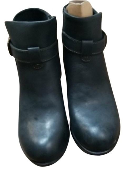 Item - Black Shea Leather Boots/Booties Size US 6 Regular (M, B)