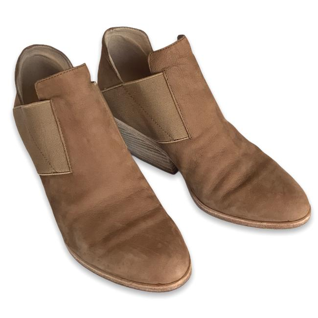 Item - Tan Even Leather Ankle Boots/Booties Size US 6 Regular (M, B)