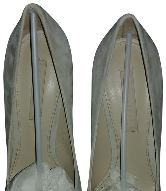 Item - Gray Bonette Pumps Size EU 37.5 (Approx. US 7.5) Regular (M, B)