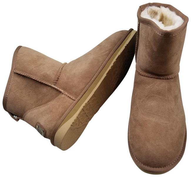 Item - Brown Chestnut Cozy Short Genuine Shearling Boots/Booties Size US 11 Regular (M, B)