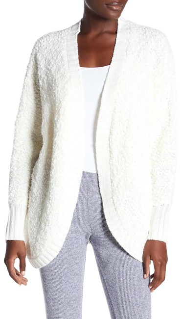 Item - White Nordstrom Fuzzy Batwing Sweater Cardigan Size 0 (XS)
