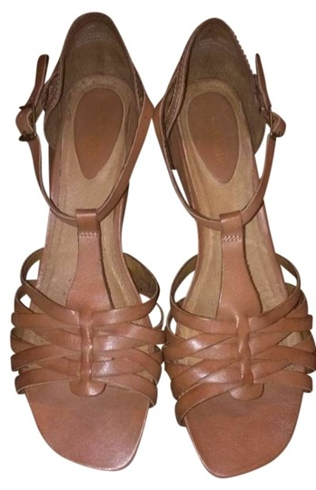 Kelly & Katie Wedge Tan/Brown Sandals