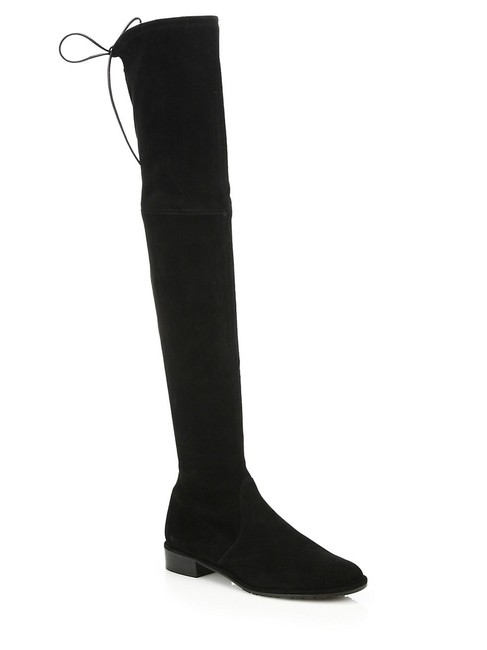 Item - Black Over-the-knee Lowland Suede Boots/Booties Size US 5.5 Regular (M, B)
