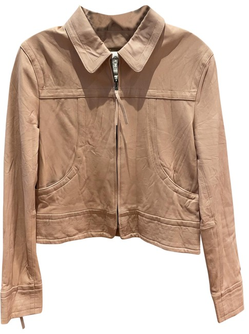 Item - Pink Washed Jacket Size 6 (S)