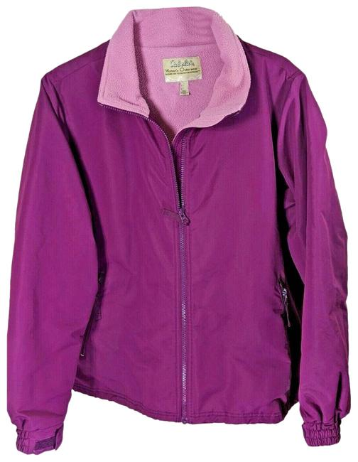 Item - Pink XL Womens Lined Full Zip Front Waist Pull Cord Jacket Size 16 (XL, Plus 0x)