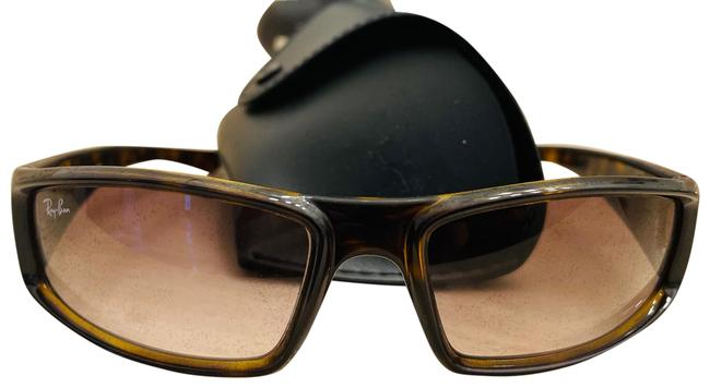 Ray-Ban Brown New N Case Unisex 2 N Stock Sunglasses Ray-Ban Brown New N Case Unisex 2 N Stock Sunglasses Image 1