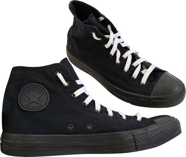 Item - Black All Star Chuck Taylor High Top Sneakers Size US 10 Regular (M, B)