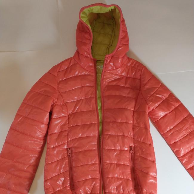 Item - Orange This Jacket Runs Small. It Is Better For A Small. Coat Size 8 (M)