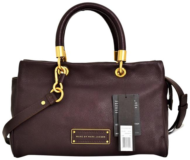 Item - Too Hot To Handle Carob Brown Leather Tote