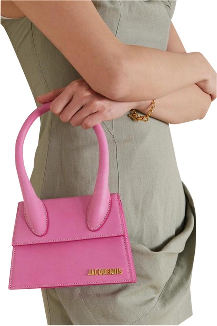 Item - Shoulder New Large Le Grand Tote Purse Pink Leather Cross Body Bag
