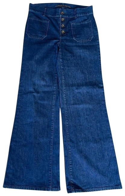 Item - Blue Jeans Co.* High Waist Button Fly Pants Size 4 (S, 27)