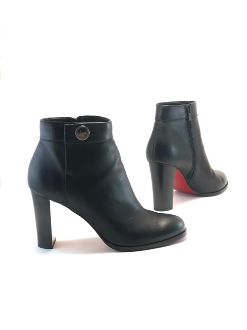 Item - Black Janis Button Boots/Booties Size EU 42 (Approx. US 12) Regular (M, B)
