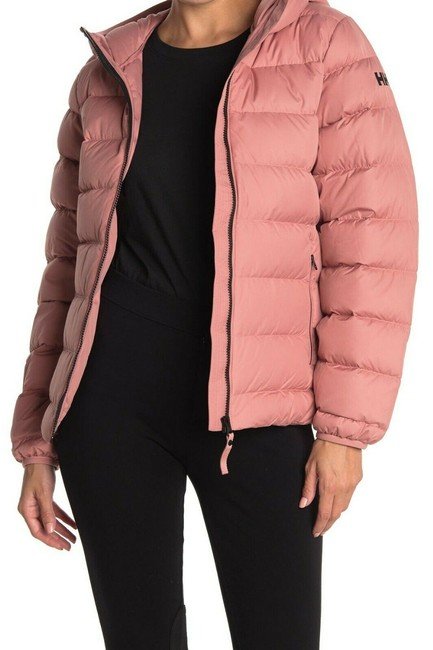 Item - Pink Ash Rose Svalbard Hooded Down Jacket Women's Coat Size 4 (S)