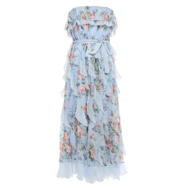 Item - Bowie Waterfall Silk Mid-length Casual Maxi Dress Size 6 (S)