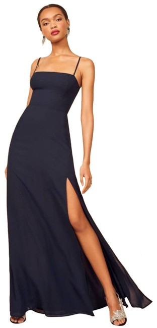 Item - Blue Ingrid Navy Long Casual Maxi Dress Size 6 (S)