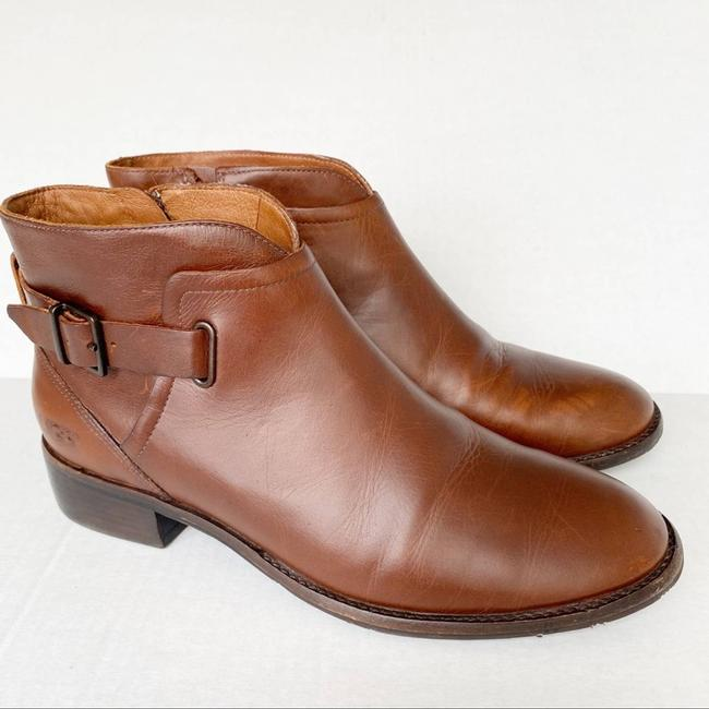 Item - Brown Barnett Chestnut Leather Ankle Water Resistant Boots/Booties Size US 9 Regular (M, B)
