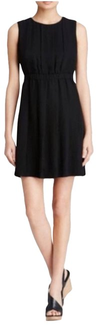 Item - Black Sleeveless Pleated Short Casual Dress Size 12 (L)