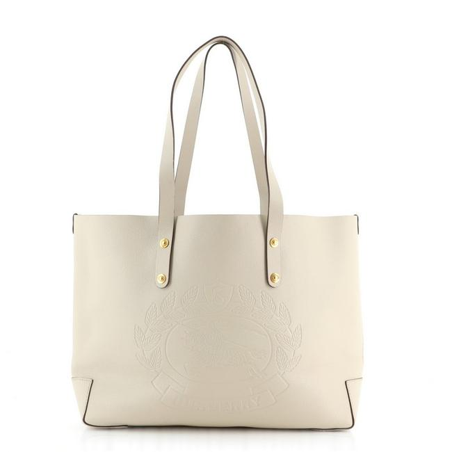 Item - Shopping Tote Crest Large Silent Sewr Neutral Shoulder Bag