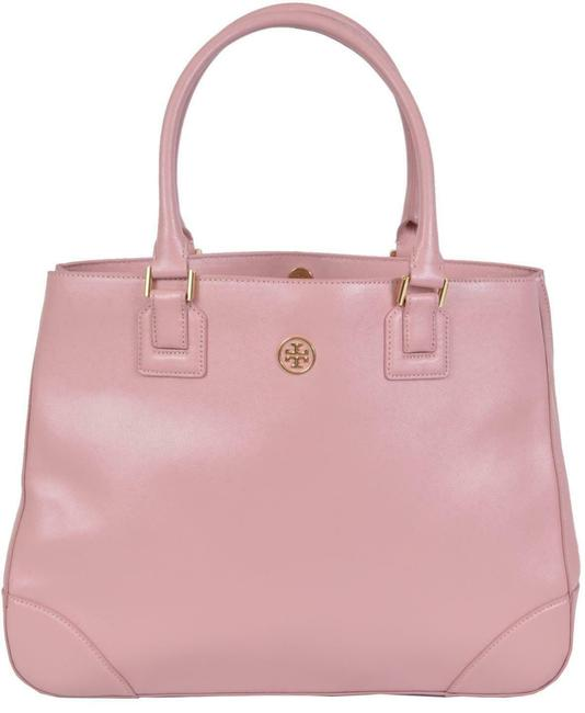 Item - Robinson New Saffiano Purse Pink Leather Tote