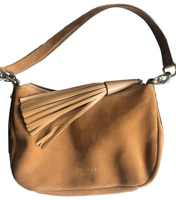 Item - Athini Small Tan Suede Leather Hobo Bag