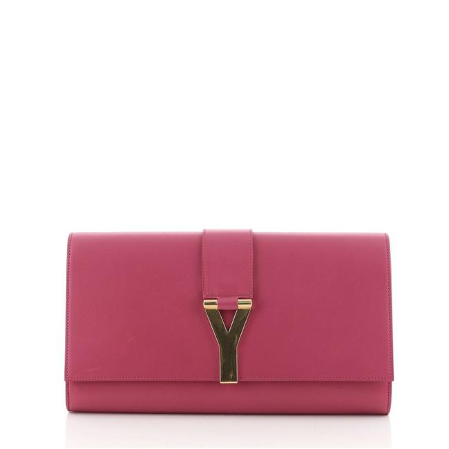 Item - ChYc Pink Leather Clutch