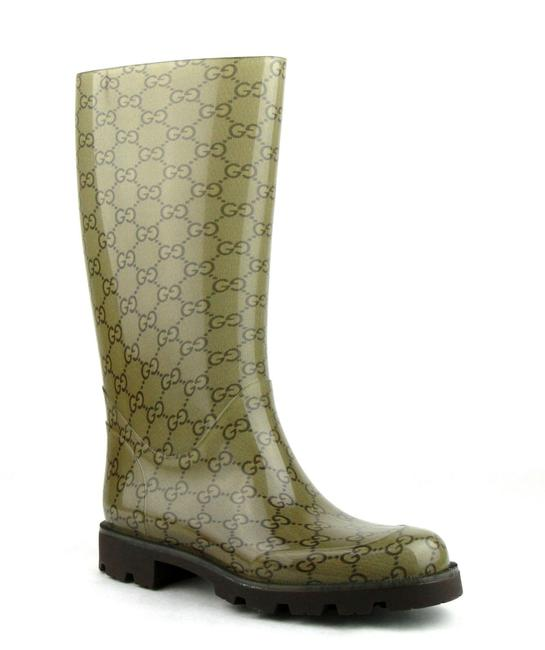 Item - Light Brown Rubber Rain with ssima Pattern 35g / 5.5 248516 8367 Boots/Booties Size EU 35 (Approx. US 5) Regular (M, B)