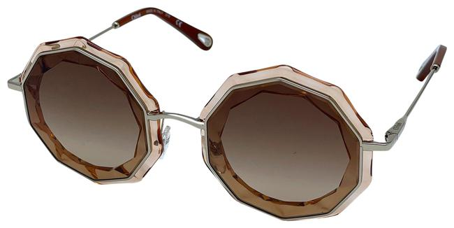 Item - Gold /Peach Crystal / Brown New Ce160s 724 Women Sunglasses