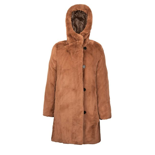 Item - Brown / Puffer Coat Size 0 (XS)