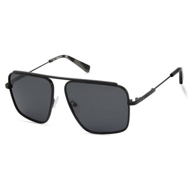 Item - Kc-7232-02d-56 Size 56mm 140mm 14mm Black Sunglasses