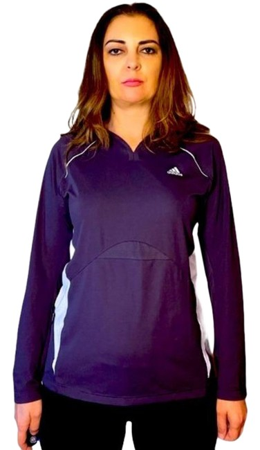 Purple & Lilac with Prints Jersey L Climacool Tee Activewear Top