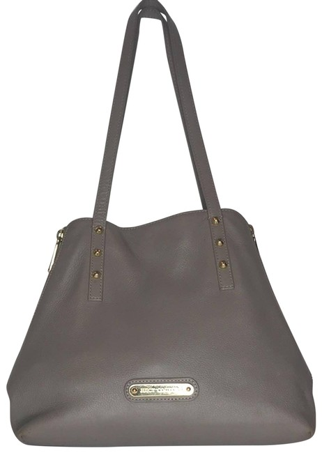 Item - Patent Leather Purse Gray Hobo Bag