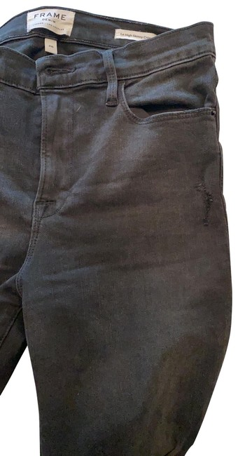 Item - Black Distressed Le Skinny Jeans Size 29 (6, M)