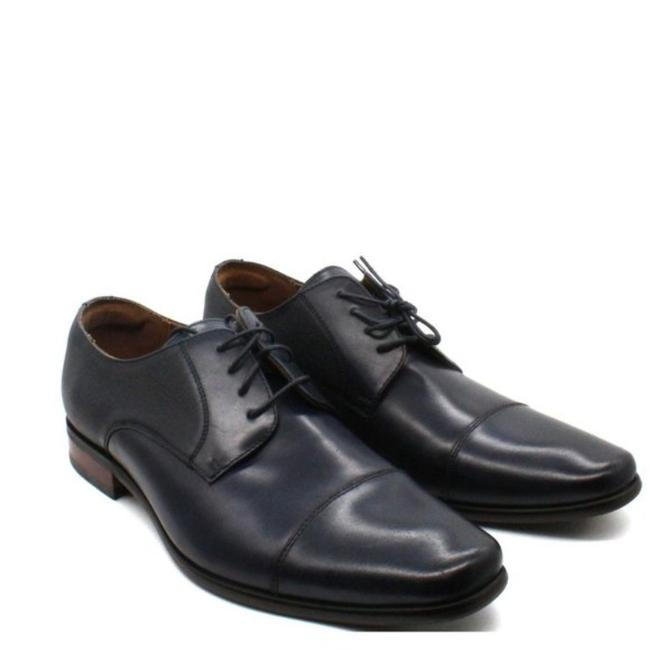 Item - Black Florsheim Angelo Cap-toe Oxfords Men's Boots/Booties Size US 11 Regular (M, B)