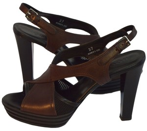 Hogan Brown / Black Pumps